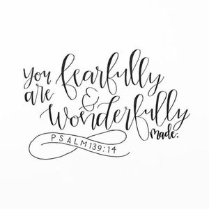 Other - You are FEARFULLY and WONDERFULLY MADE!